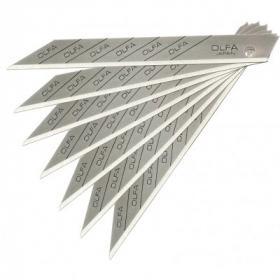Olfa knivblade 9 mm 30° – 10 stk.
