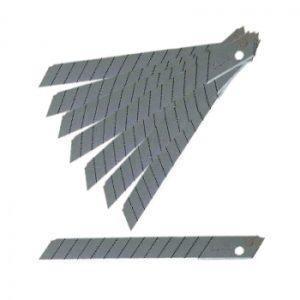 Olfa knivblade 9 mm 45° Rustfri – 10 stk.