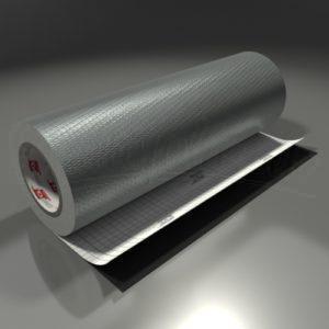 Oracal 975CA – 090 – Sølvgrå – Carbon Look