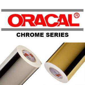 Oracal 351 Spejlfolie – Chrom
