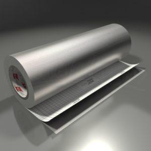 Oracal 975BR – Brushed – 933 – Tin metallic
