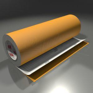Skiltefolie 631 mat – 020 Golden yellow