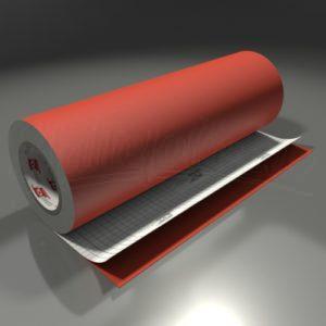 Skiltefolie 631 mat – 047 Orange red